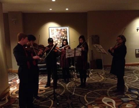 Feb. 8, 2014 – Violin Ensemble